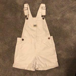Oshkosh overall shorts Sz 5t